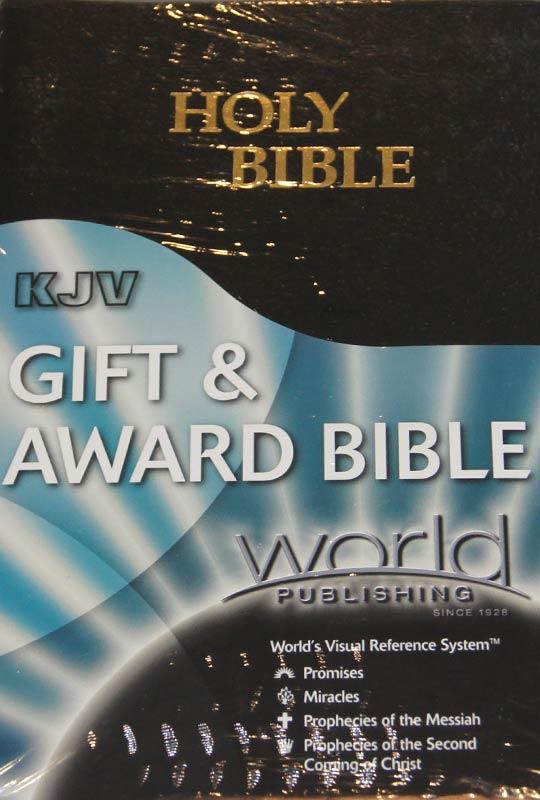 Gift Award Bible Black