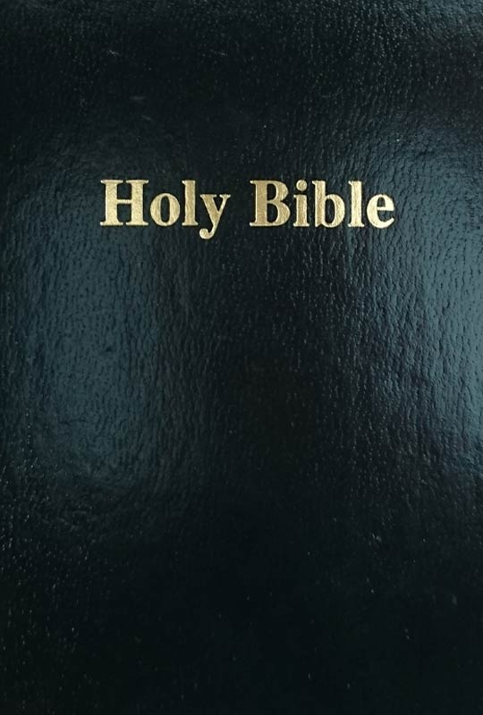 KJV bible black
