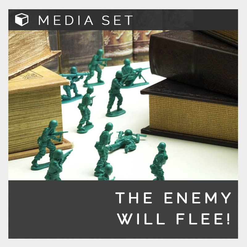 Enemy will flee