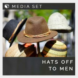 Hats off to men