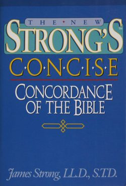 strongs-concise-concordance