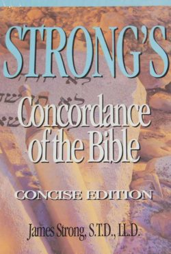 strongs-concordance-concise